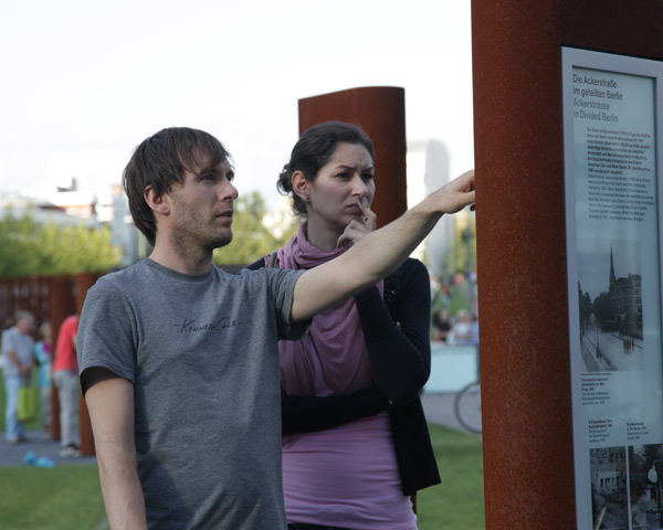 <p>Berlin Wall Memorial – commemorative event on the 50th anniversary of the Berlin Wall on August 13, 2011, open-air exhibition. Photo: Gesa Simons, GBM<span>1/4</span></p>